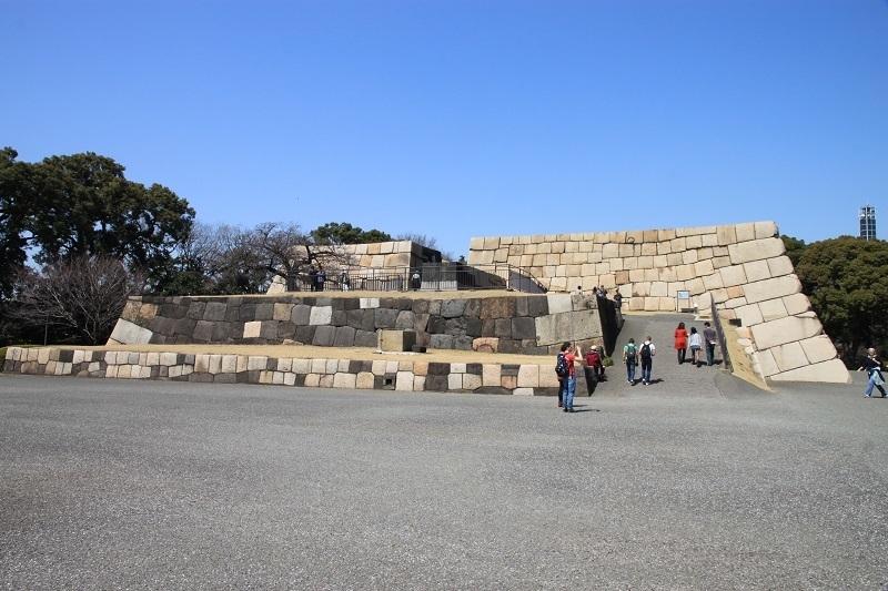 江戸城、天守台