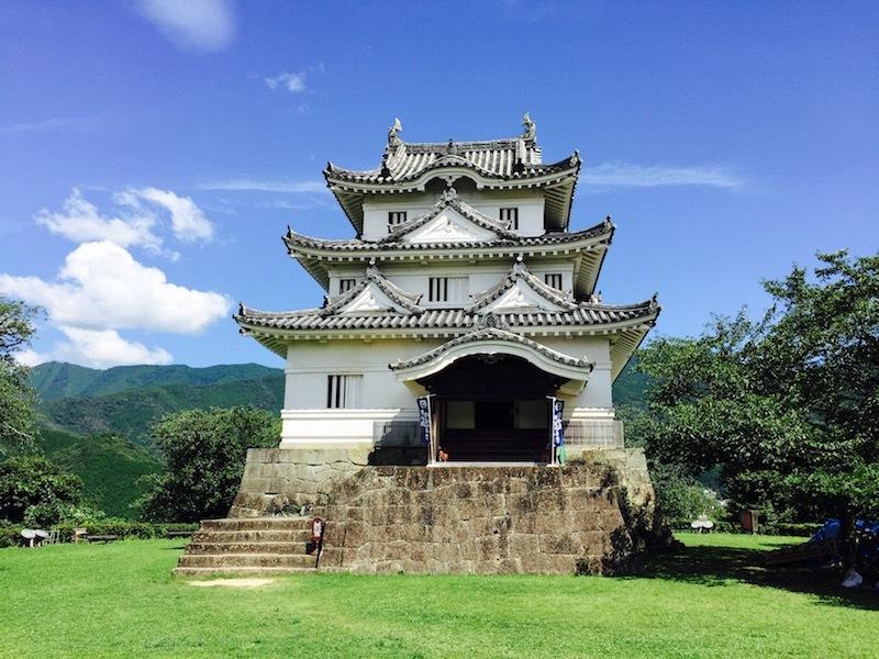 日本最強の城、宇和島城