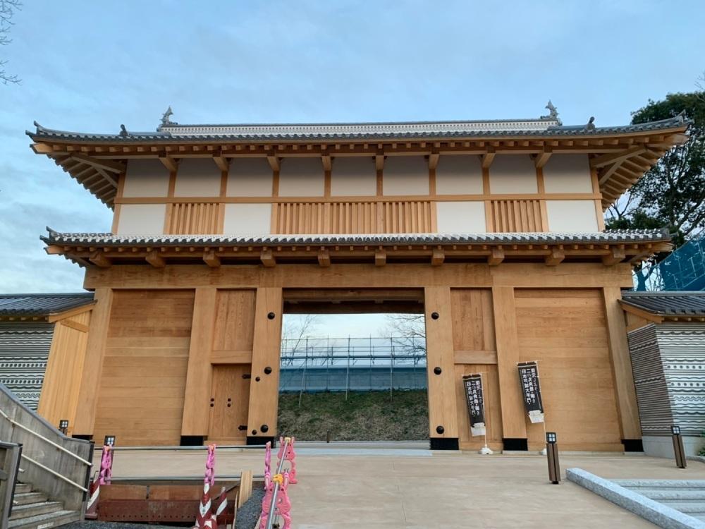 水戸城、大手門