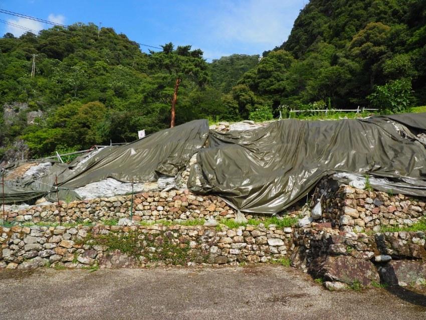佐和山城、移設石垣