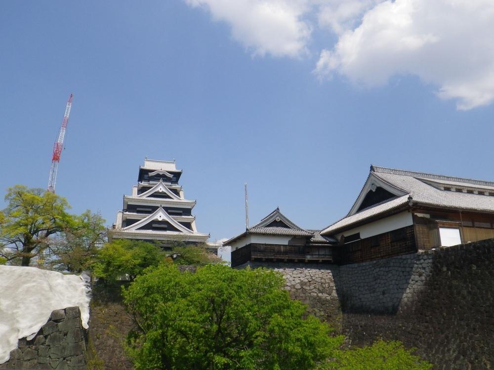 熊本城、天守閣
