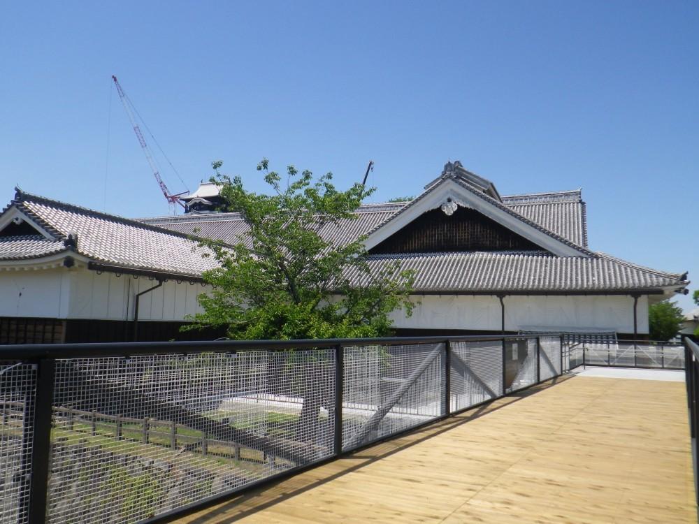 熊本城、特別見学通路、本丸御殿