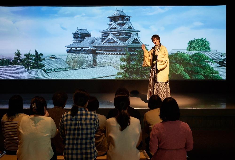 熊本城、熊本城ミュージアムわくわく座、熊本城VR