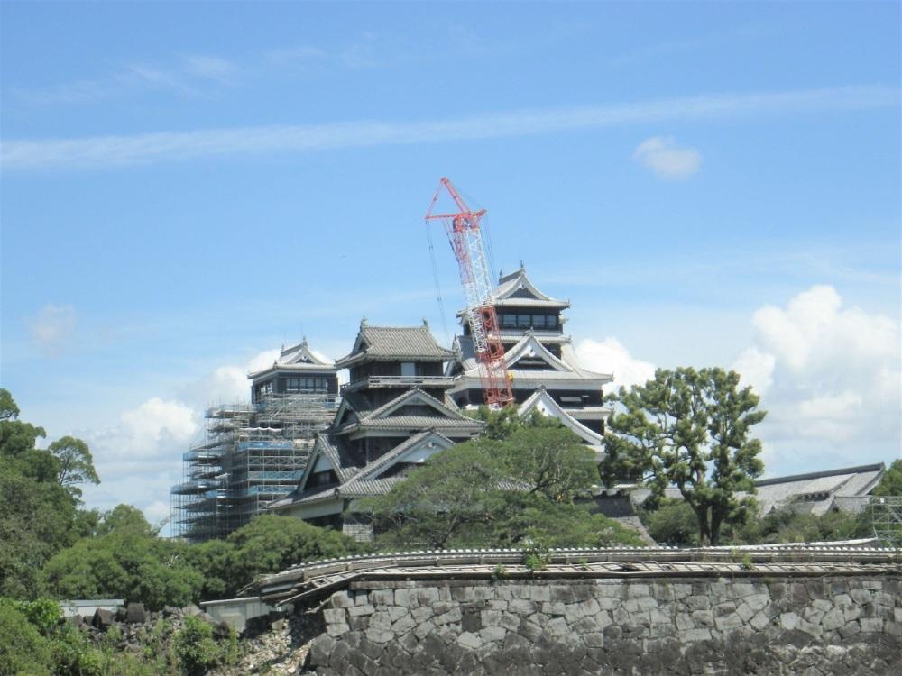 熊本城、宇土櫓、大小天守