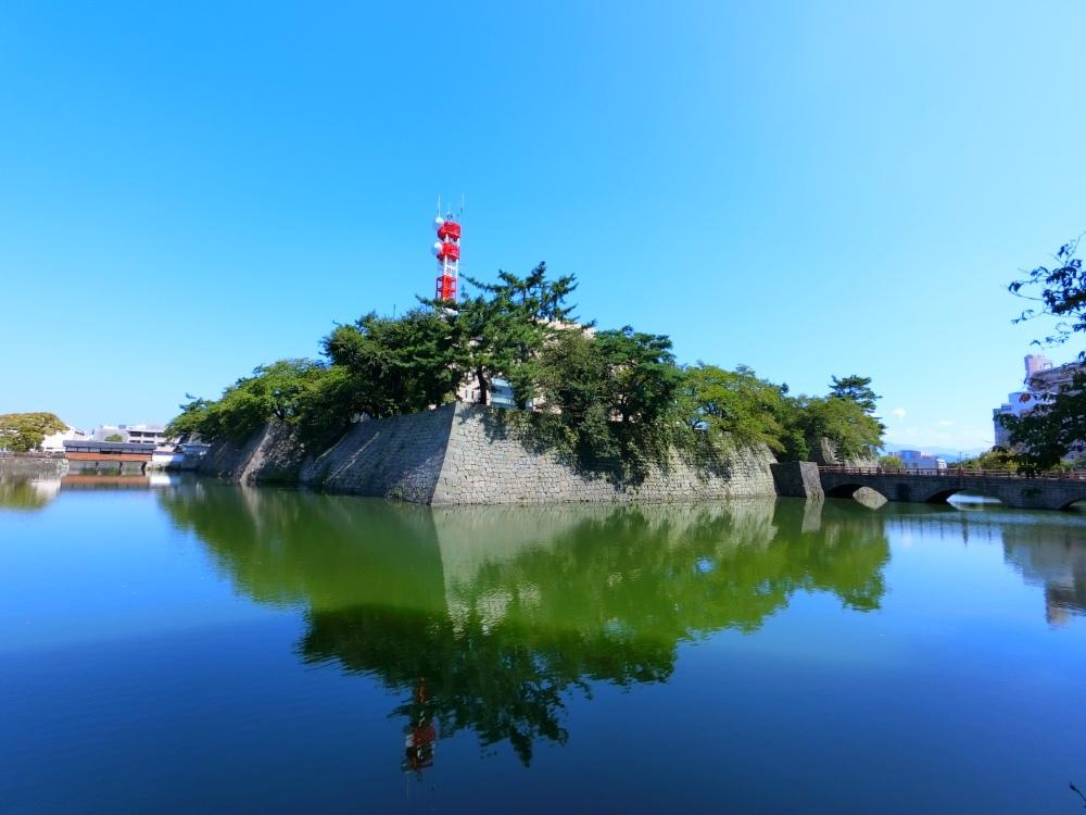 福井城、本丸