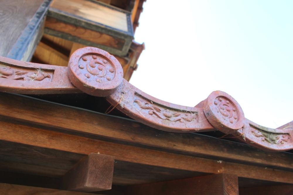 福井城、舎人門、越前赤瓦