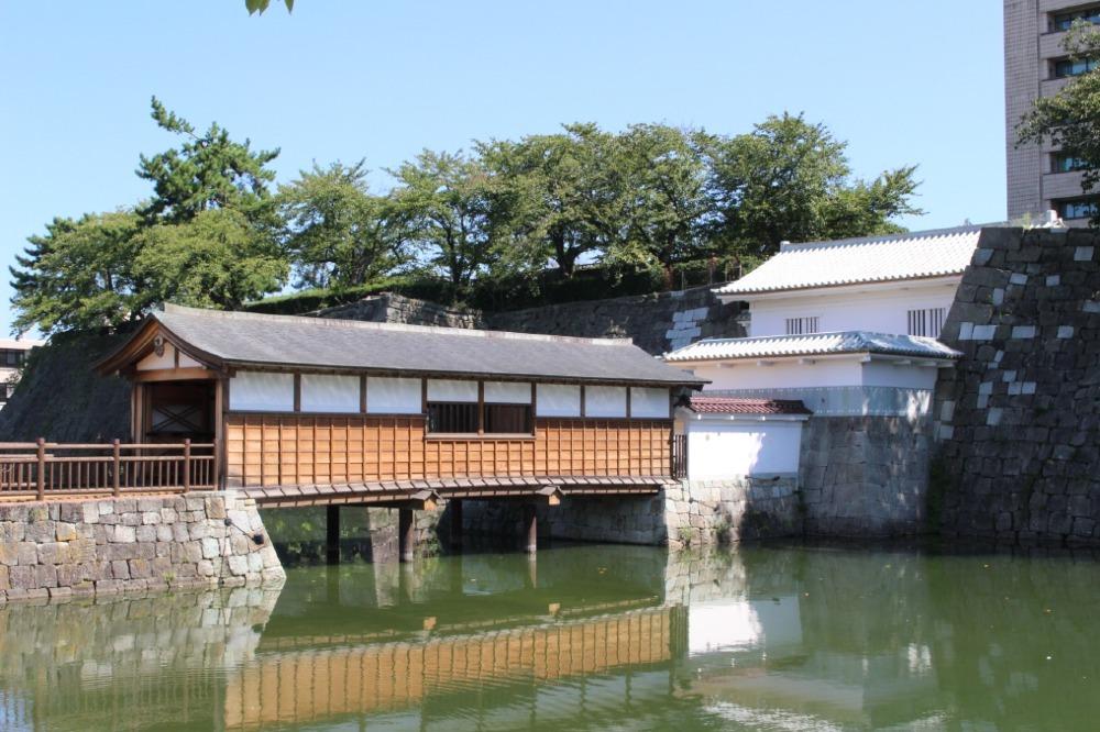 福井城、御廊下橋