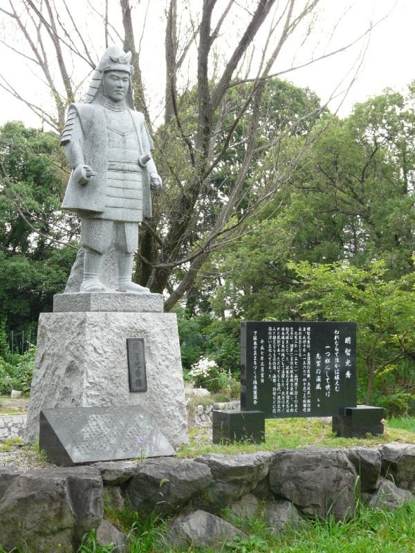 坂本城、明智光秀