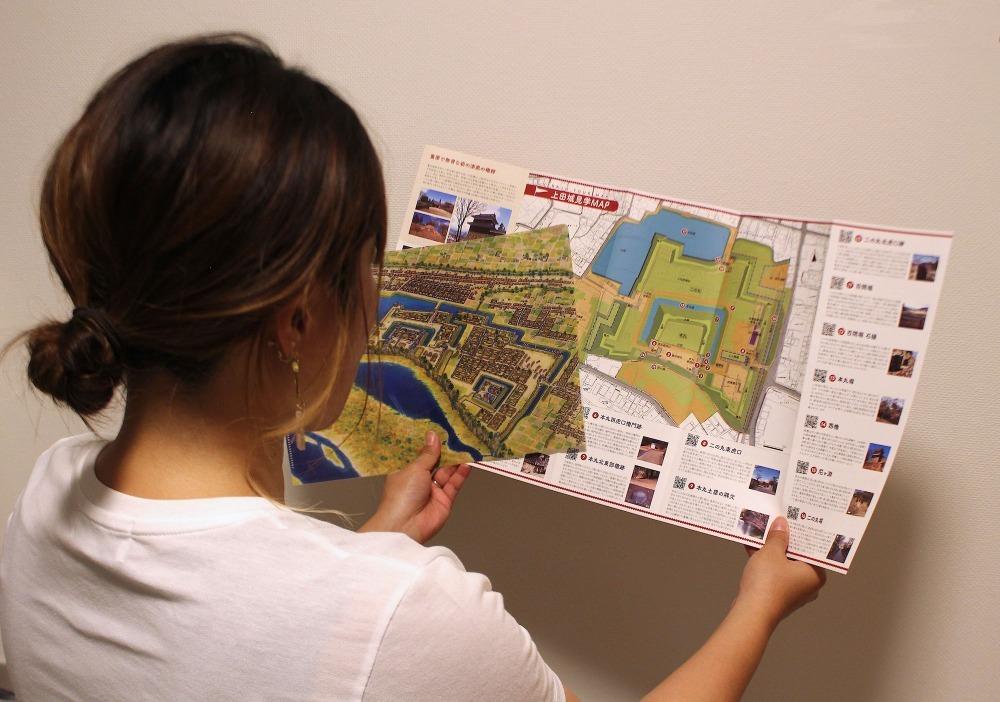 はじめてのお城マップ、上田城、松代城、彦根城