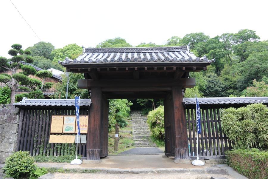 宇和島城、上り立ち門