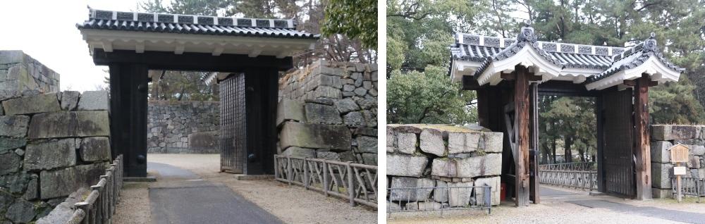 名古屋城、東二の門