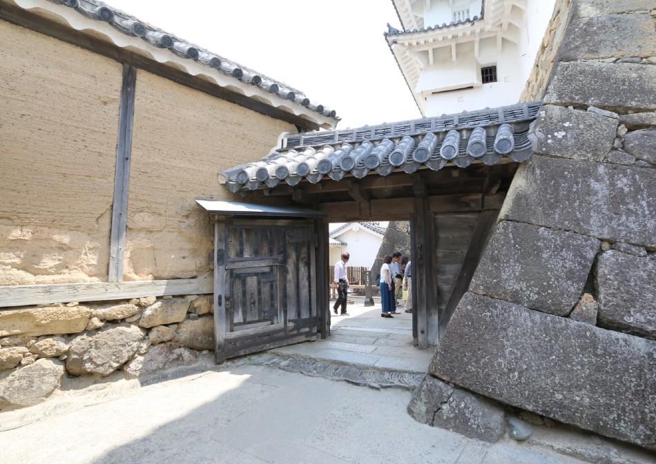 姫路城、水一の門