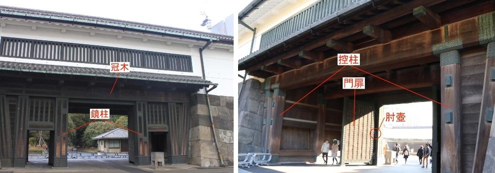 江戸城、大手門