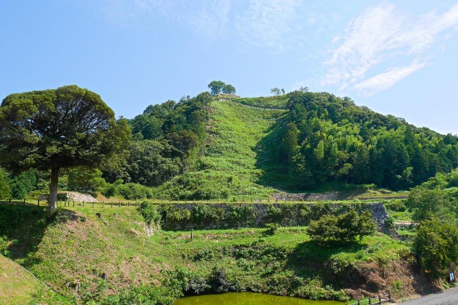 月山富田城、山中御殿