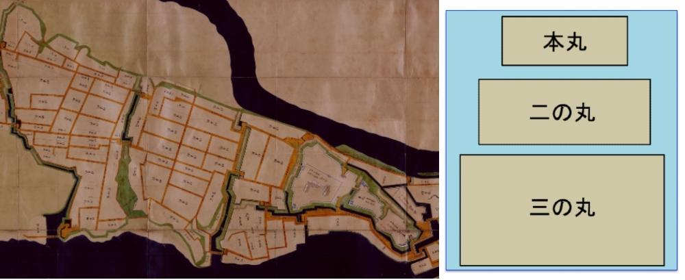 城絵図、水戸城