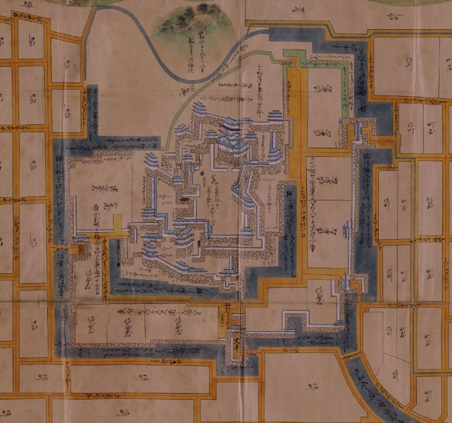 城絵図、福山城
