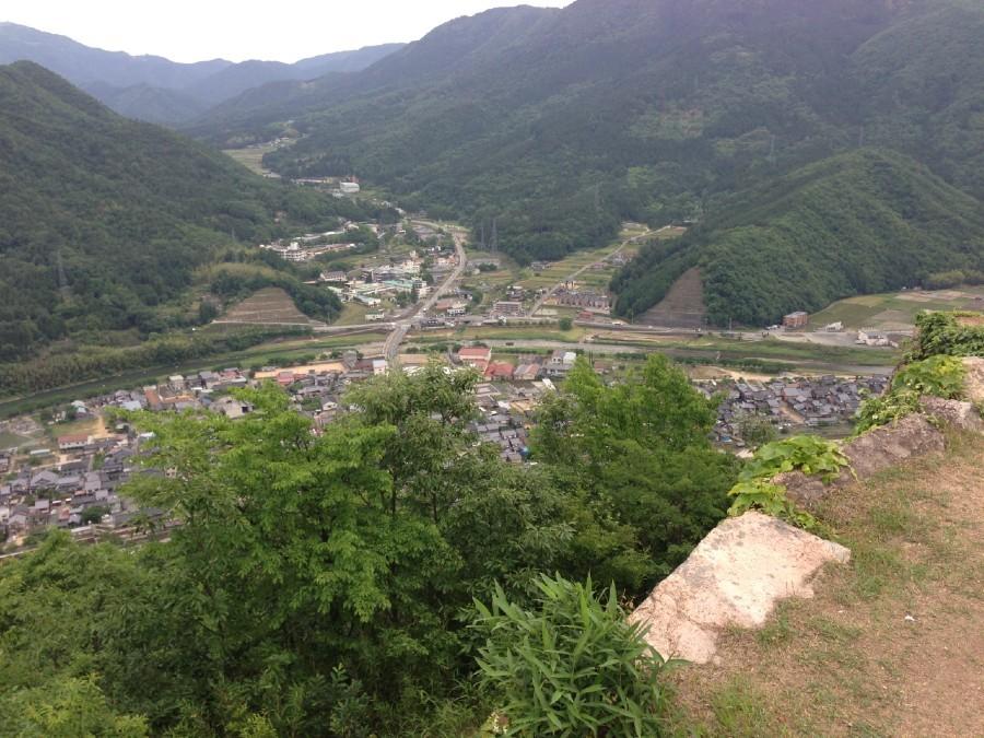 竹田城、古城山