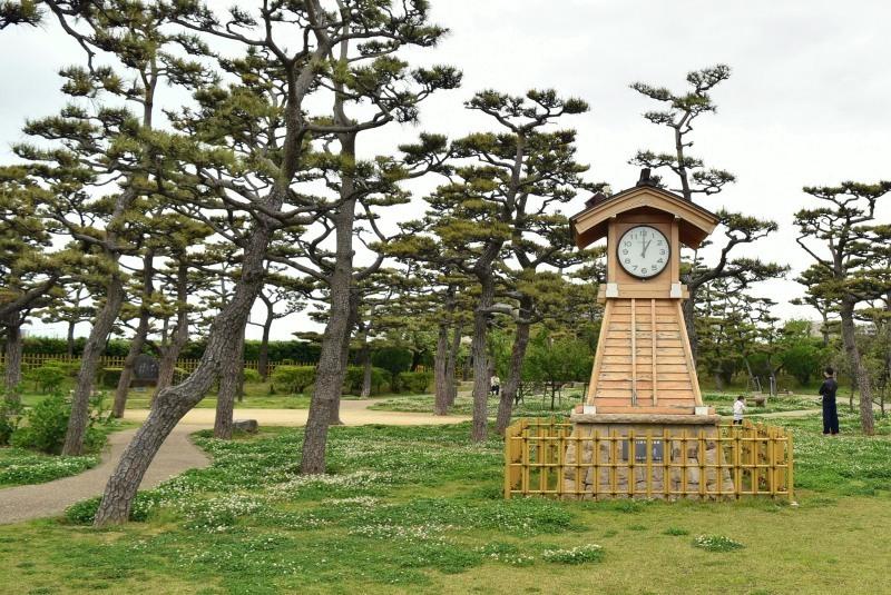 岸和田城、二の丸