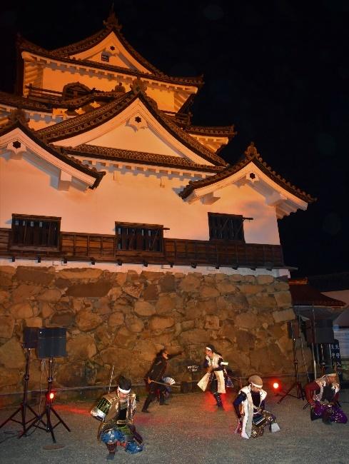 彦根城・佐和山城限定コラボ夜の御城印スタンプラリー