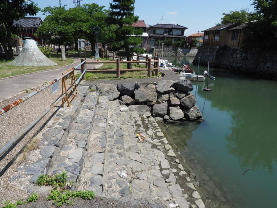 桑名城、水堀跡