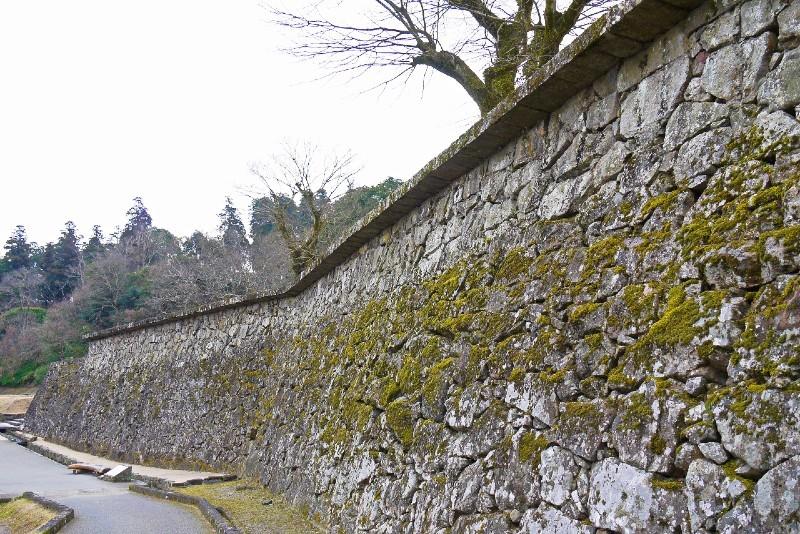 人吉城、石垣
