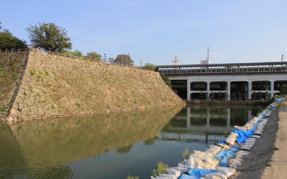 山陽新幹線、三原城