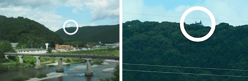 山陽新幹線、岩国城