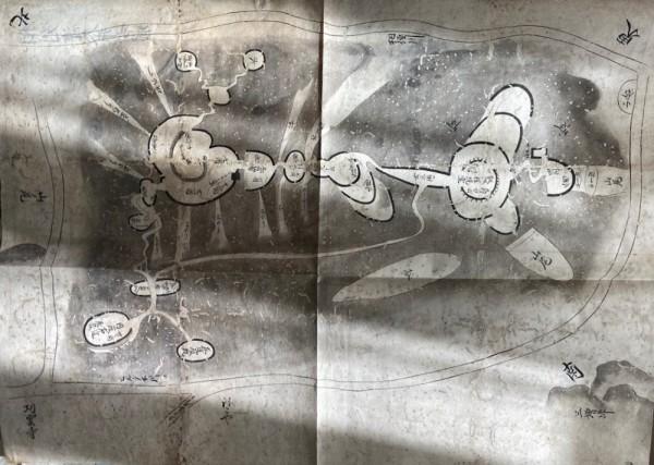 相州津久井古城図