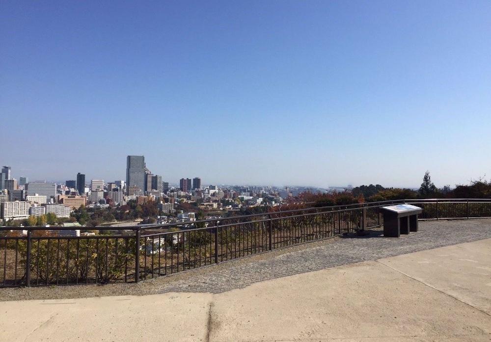 仙台城、本丸