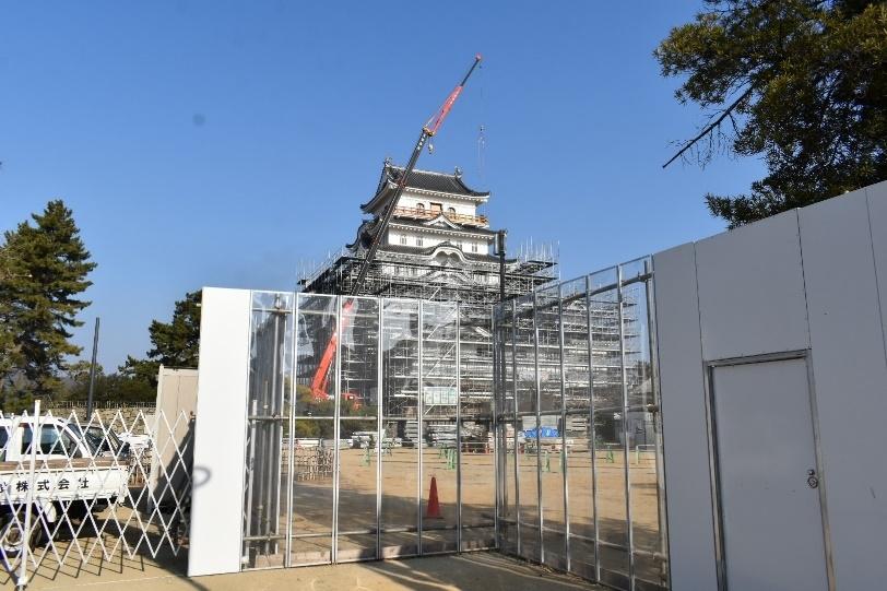 福山城、記念事業、天守、月見櫓