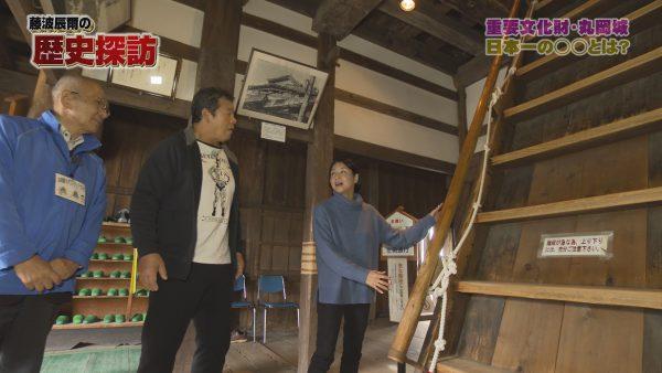藤波辰爾の歴史探訪、丸岡城