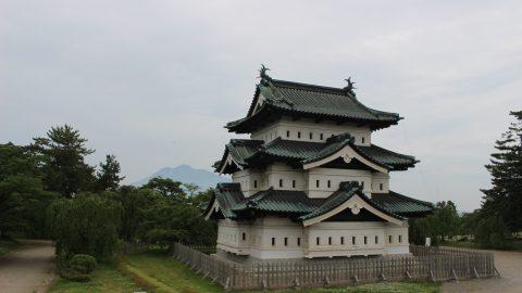 藤波辰爾の歴史探訪、弘前城