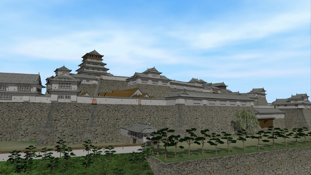 津山城バーチャルツアー