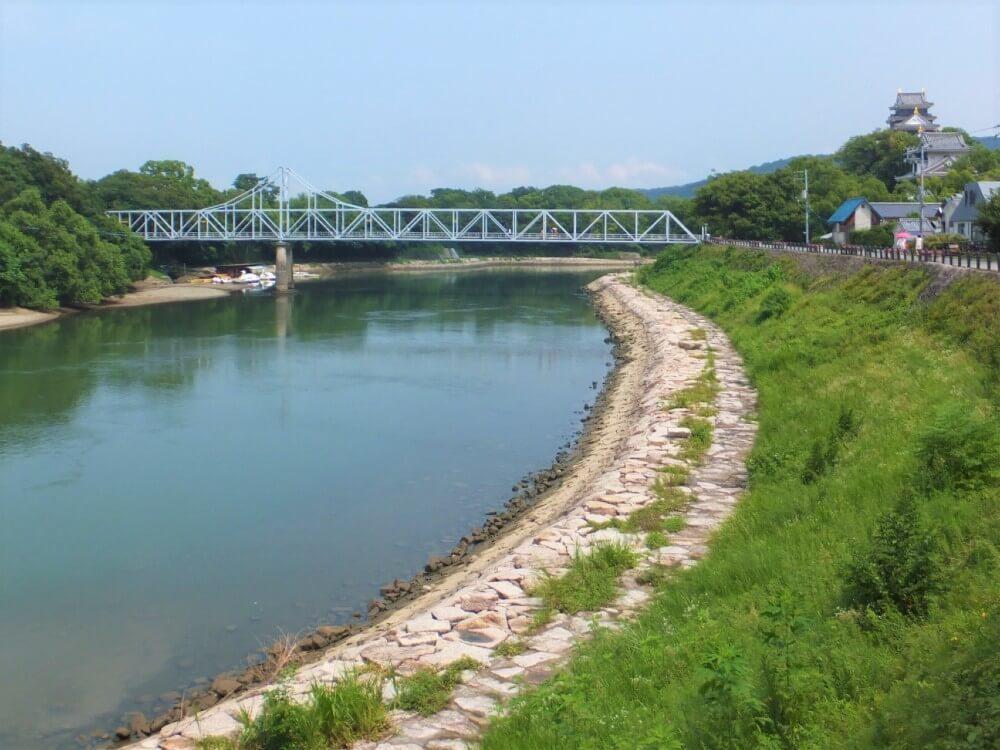 岡山城、月見橋、後楽園