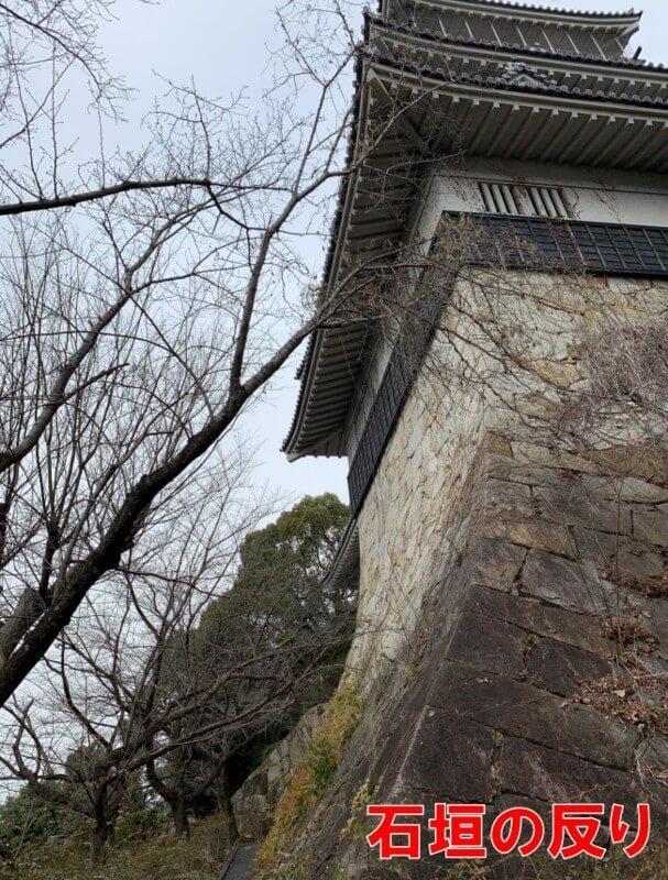 岩崎城、前田慶次、天守閣、石垣
