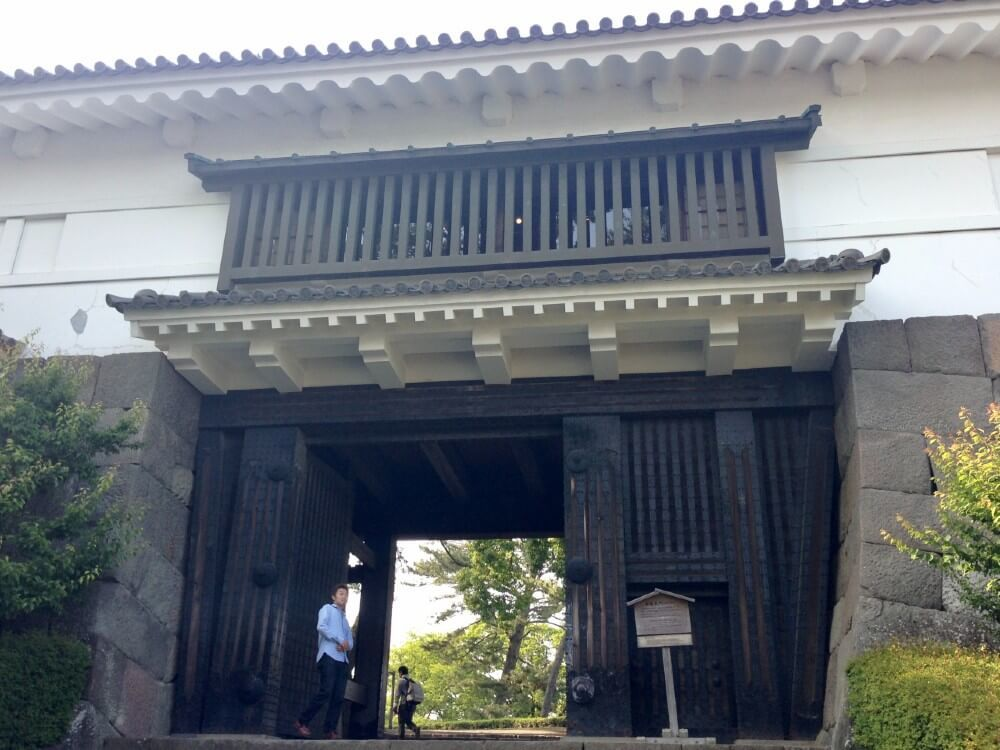 小田原城、常盤木門