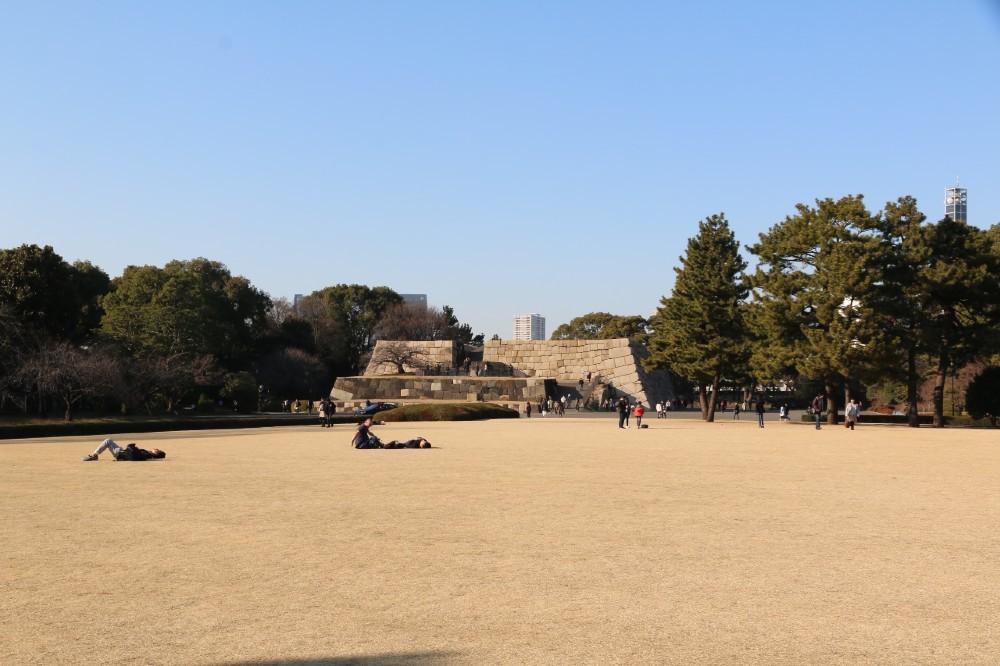 江戸城、本丸御殿跡