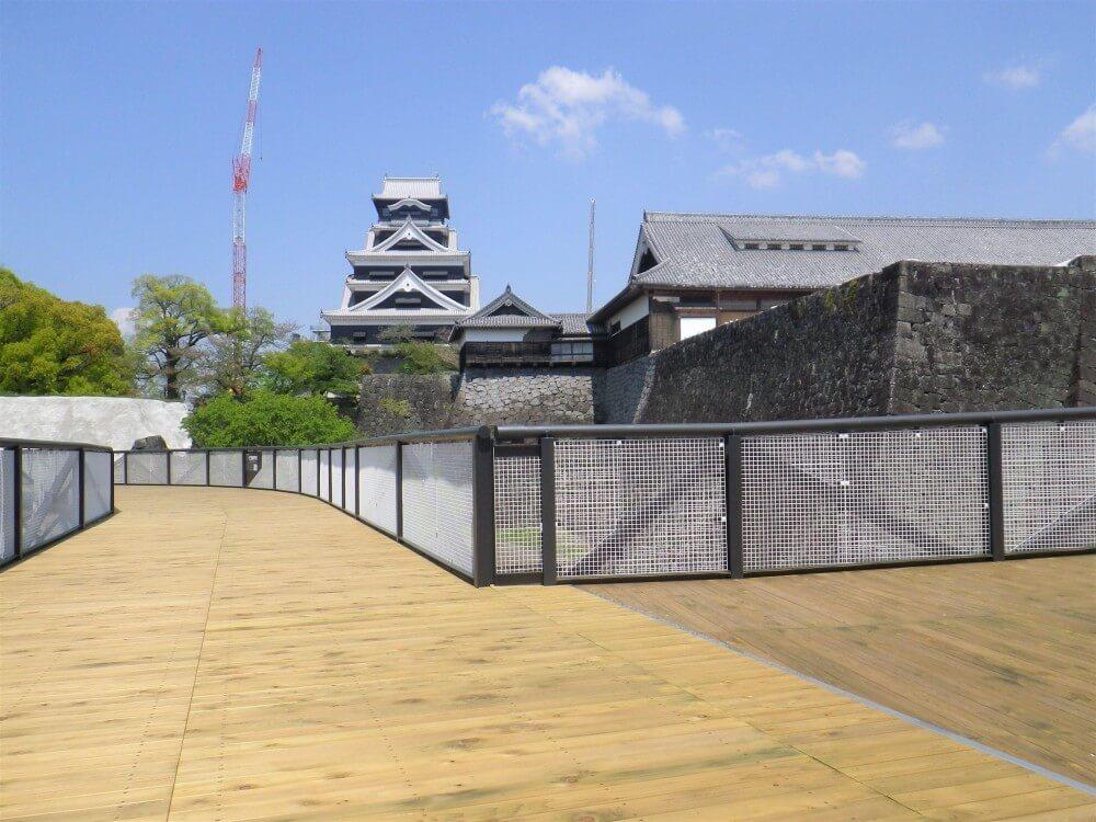 熊本城、特別見学通路、南ルート