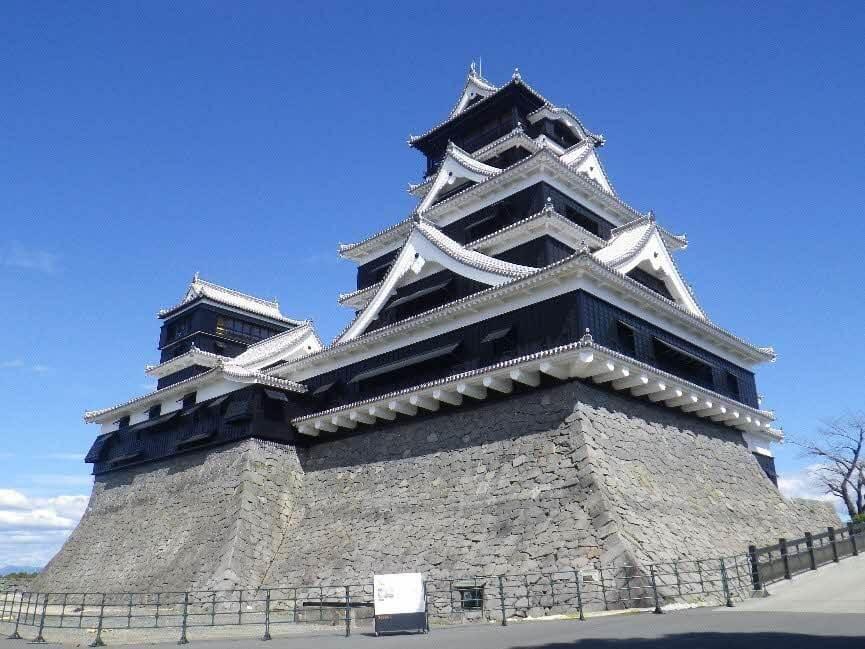 熊本城、天守閣、加藤神社