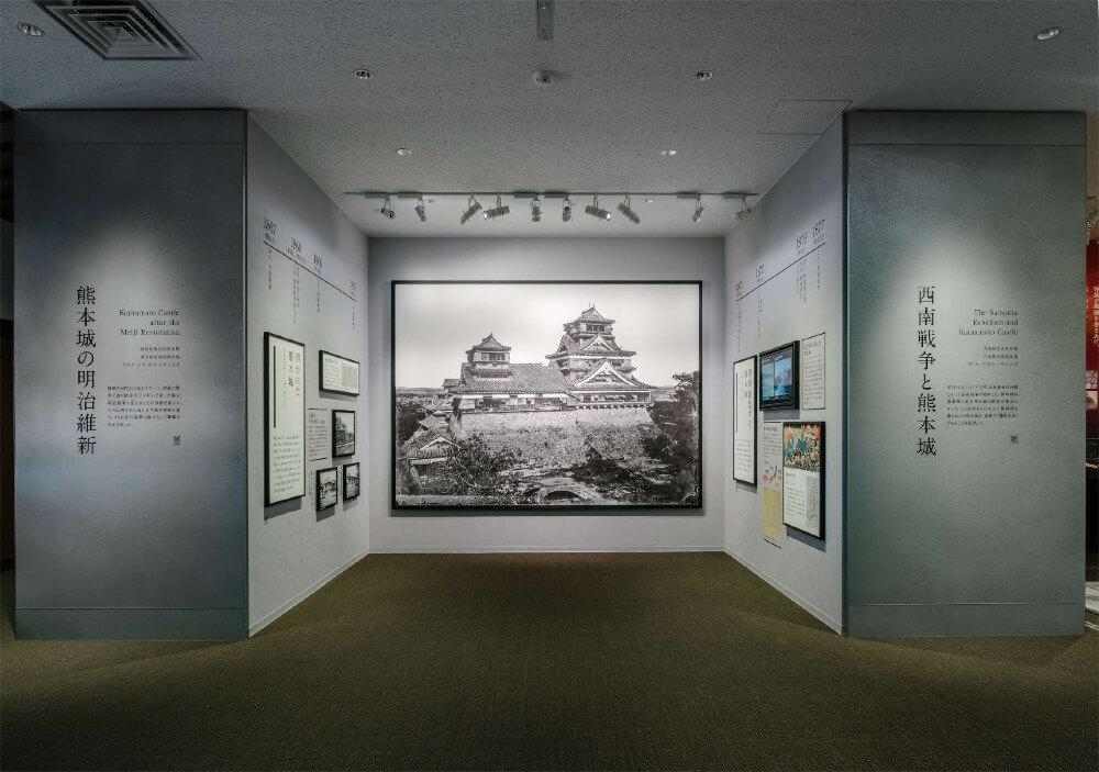 熊本城、天守閣、展示