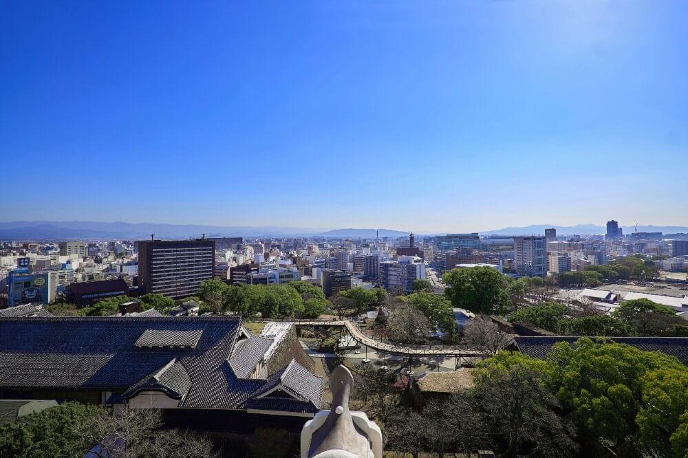 熊本城、天守閣、最上階