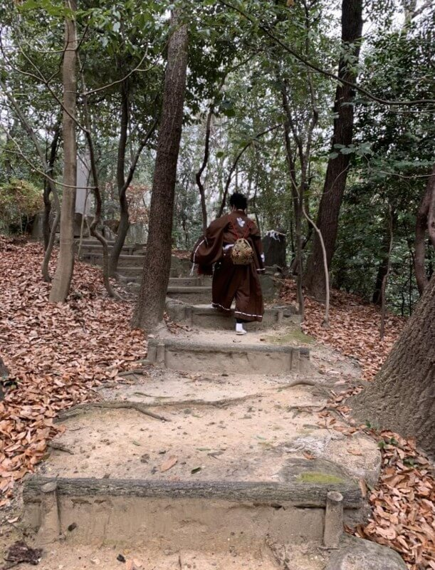 岩崎城、前田慶次