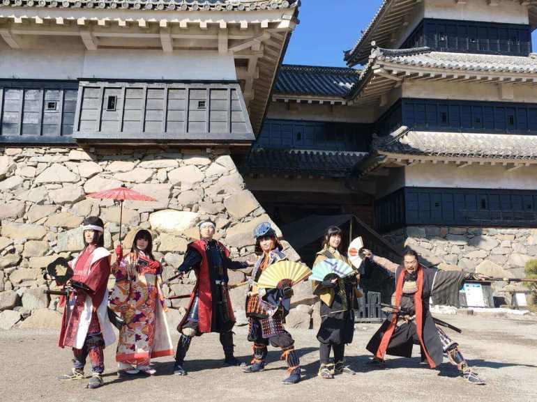国宝松本城おもてなし隊,武将隊