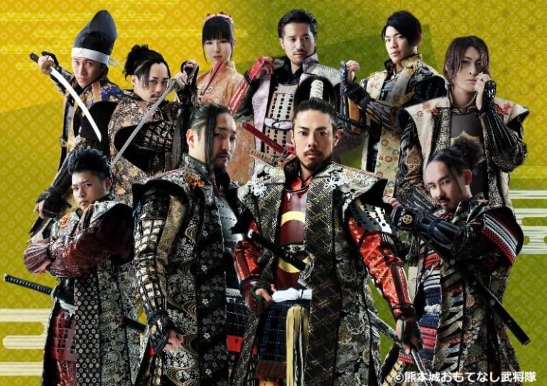 熊本城おもてなし武将隊,全国武将隊大特集