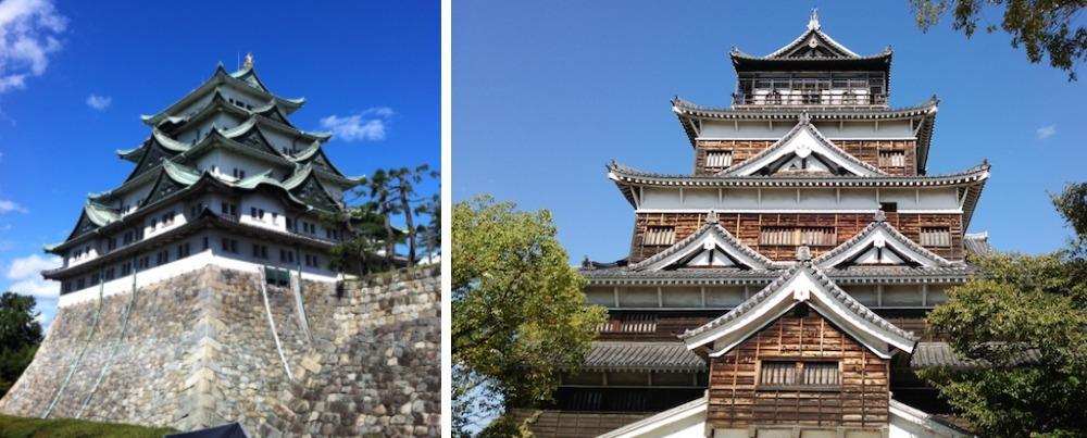 世界ふしぎ発見!、名古屋城、広島城