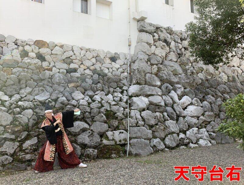 前田慶次、大垣城、天守台石垣