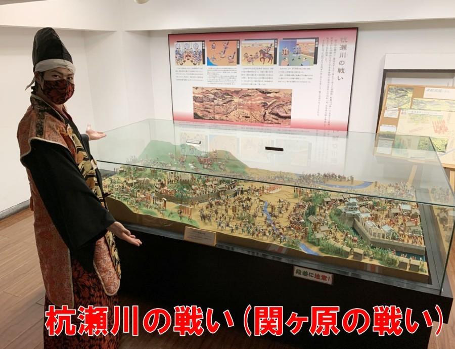 大垣城、天守、模型