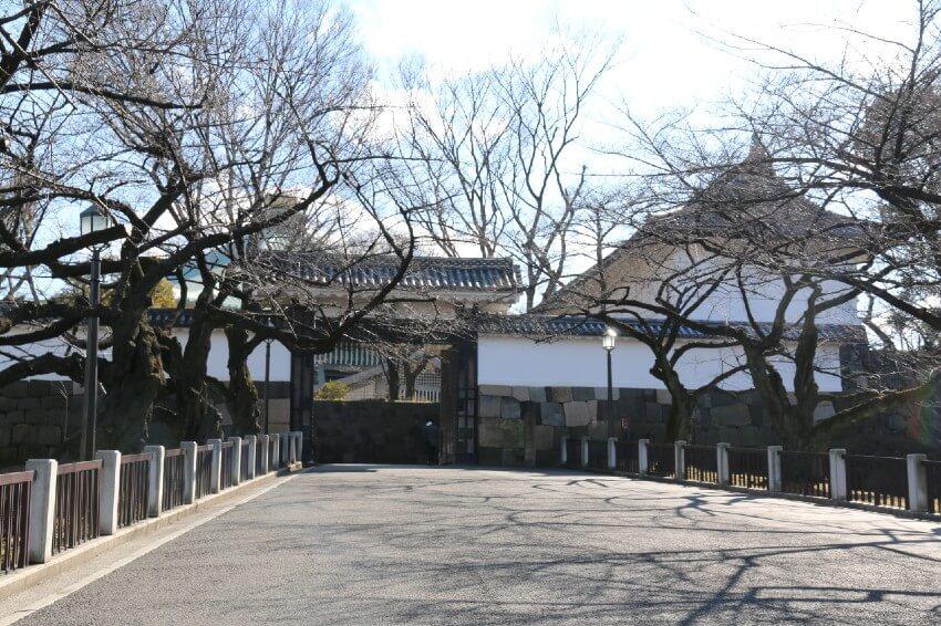 江戸城、田安門