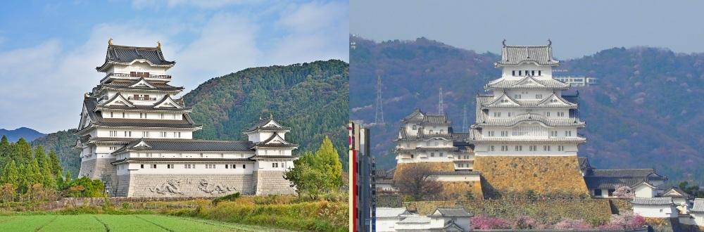 勝山城博物館、姫路城天守