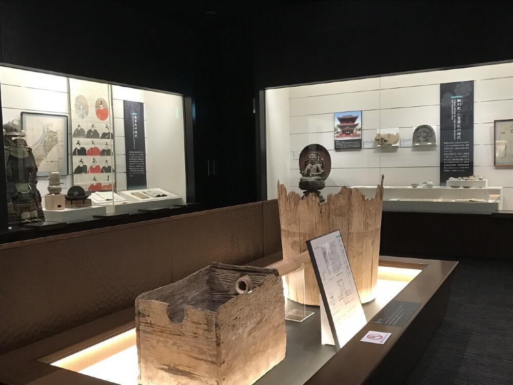 中津城、中津市歴史博物館、展示室